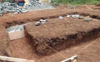 Бутово бетонный фундамент