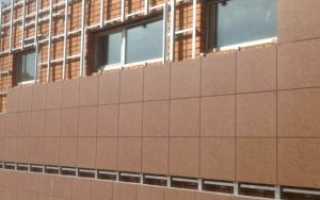 Видео монтаж вентилируемого фасада
