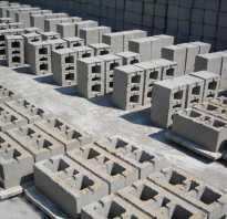 Пескоцементные блоки характеристики