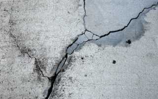 Расширяющийся цемент для заделки трещин