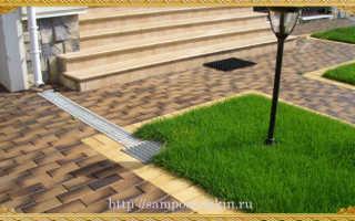 Как выложить двор тротуарной плиткой