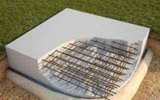 Устройство бетонных фундаментов