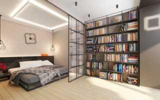 Планировка студия спальня