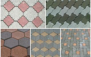 Плитка тротуарная какую выбрать