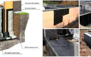 Гидроизоляция между фундаментом и газобетоном