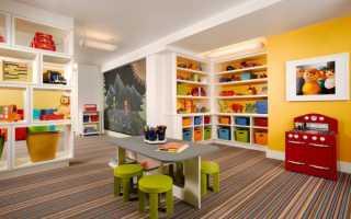 Оформление детской игровой комнаты