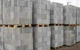 Плита из ячеистого бетона плотность