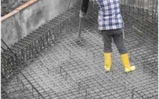 Марка бетона на фундаментную плиту