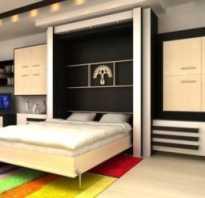 Встроенное спальное место