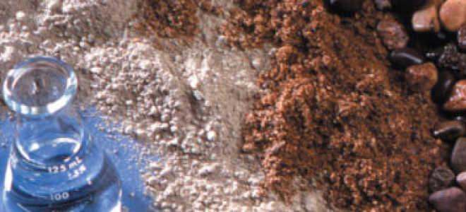 Как приготовить цементный раствор для фундамента