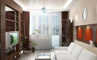Занавески на окна с балконной дверью
