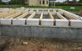 Фундаменты для домов из газобетона