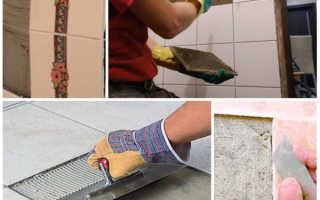 Чем приклеить плитку к ванне