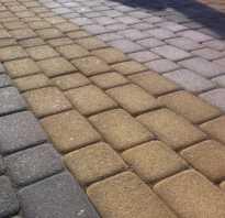 Как приготовить сухую смесь для тротуарной плитки