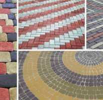 Тротуарная плитка технология укладки