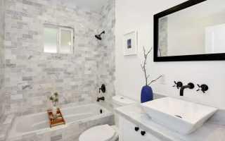 Ванная комната плитка с рисунком