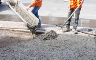 Расход цемента на куб бетона м200