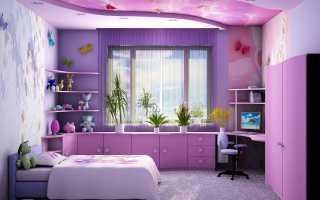 Спальная для девочки подростка