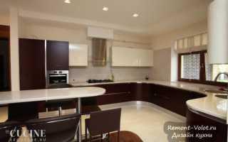 Кухни для больших домов