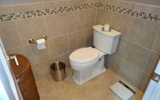Как выложить плитку в туалете