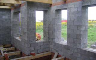 Толщина утеплителя для стен из керамзитобетонных блоков