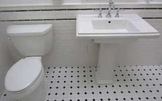 Пластмассовая плитка для ванной