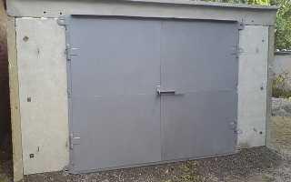 Как утеплить гараж из бетона