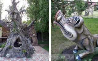 Садовые фигуры своими руками из цемента