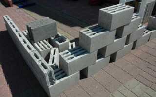 Цементные блоки для стен