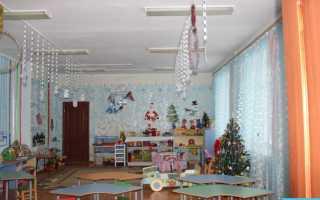 Как украсить детский сад к зиме