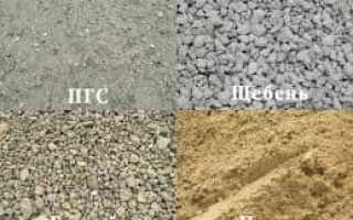 Пропорции цемента и пгс для бетона