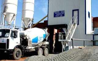 Соотношение песка щебня и цемента для бетона