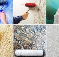 Декоративная отделка стен шпаклевкой своими руками
