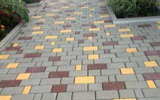 Варианты укладки плитки тротуарной