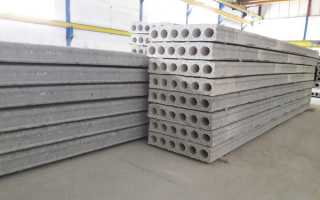 Сколько весит бетонная плита метр на метр