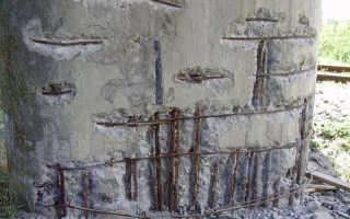 Виды коррозии цементного камня