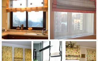 Типы штор для кухни