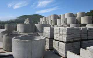 Цемент для гидроизоляции колодца