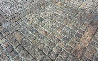 Устройство дорожек из тротуарной плитки технология