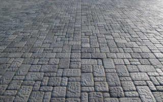 Виды тротуарной брусчатки