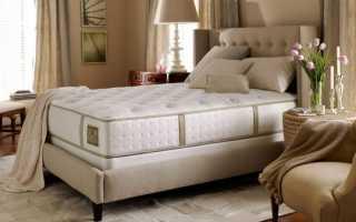 Красивая спальная кровать