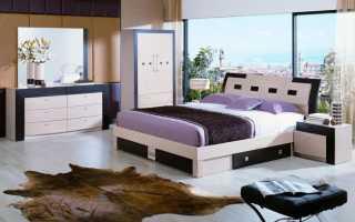 Белая спальня для девушки