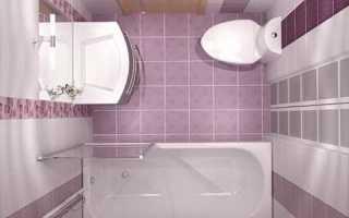 Двухэтажная ванная комната