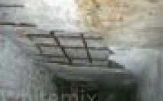 Ремонт железобетонной плиты