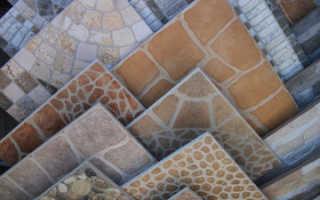 Тротуарная плитка из керамогранита