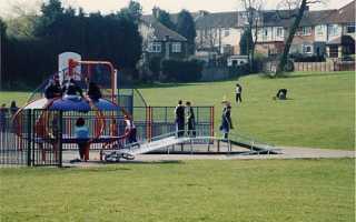План детской игровой площадки