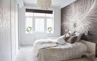 Как оформить стены в спальне своими руками