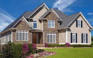 Сайдинг для наружной отделки дома размеры