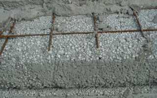 Стяжка из полистиролбетона минимальная толщина