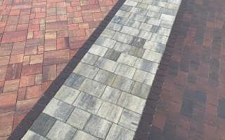 Плитка тротуарная размеры